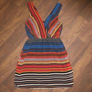 Zealous Striped Dress | Size Medium | M